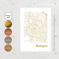 Bologna Map square