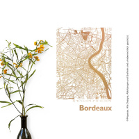 Bordeaux Map square