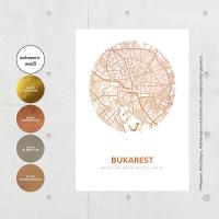 Budapest Karte Rund