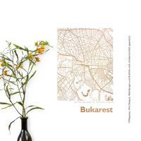 Budapest Karte Eckig