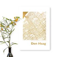 Den Haag Karte Eckig
