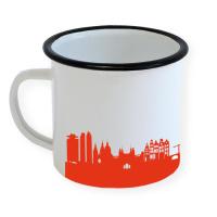 Amsterdam Enamel Mug Skyline