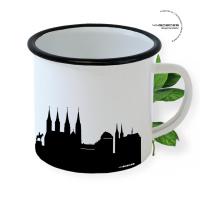 Bamberg Enamel Mug Skyline