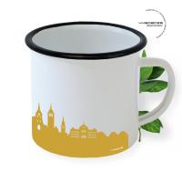Bern Enamel Mug Skyline
