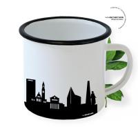 Boston Enamel Mug Skyline