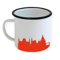 Dresden Enamel Mug Skyline