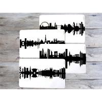 Breakfast board Hamburg black