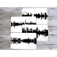 Breakfast board Ruhrpott black