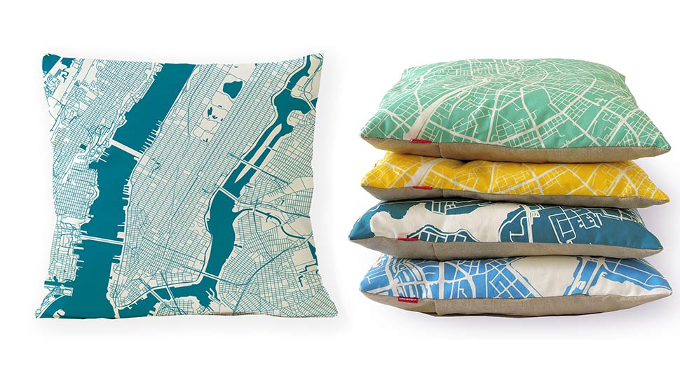 PILLOW CITY MAP - 38,50 EUR