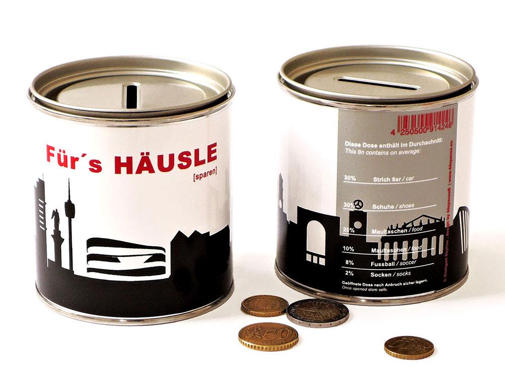 Sparen für ein Haus in Stuttgart by 44spaces